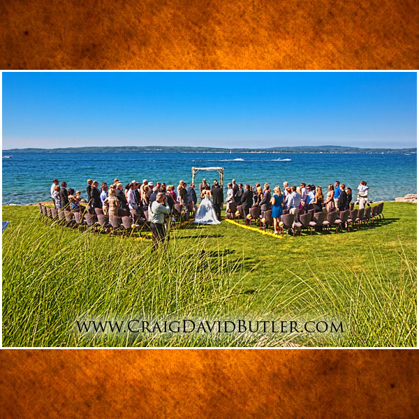 Wedding photography Bay Harbor Michigan Resort Destination Wedding
