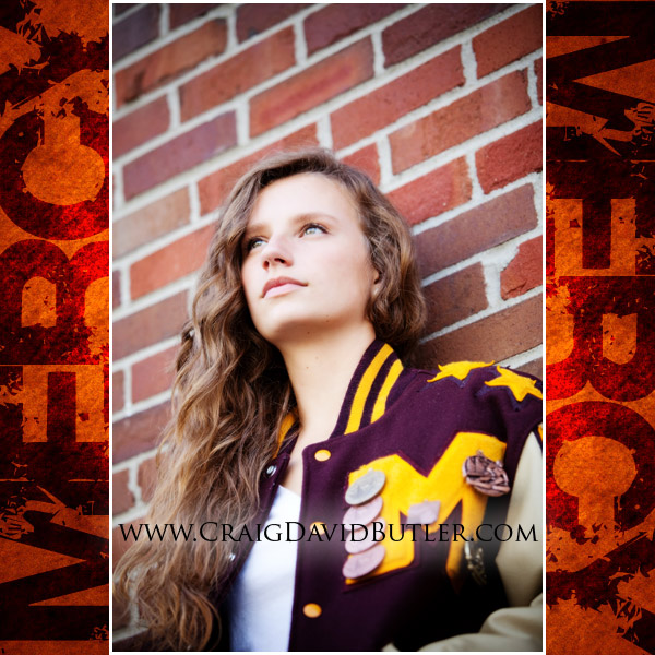 Mercy Senior Pictures, Farmington Michigan High School, Craig David Butler, 02