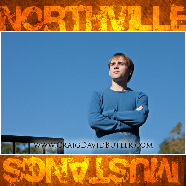 Northville Senior Photos NOrthville High School, Craig David Butler, Chris04