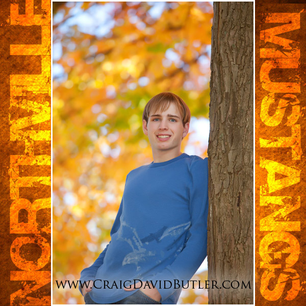 Northville Senior Photos NOrthville High School, Craig David Butler, Chris05