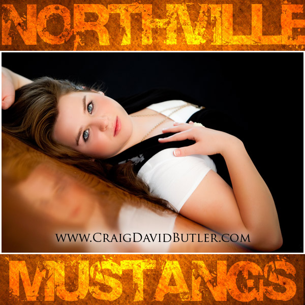 Northville Senior Pictures, Norhtville High School, Craig David Butler, Allison - 01