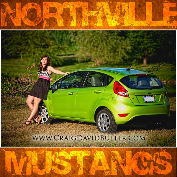 Northville Senior Pictures, Norhtville High School, Craig David Butler, Allison - 06