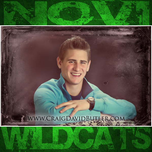 Novi Senior Pictures, Novi High School Michigan, Craig David Butler 01