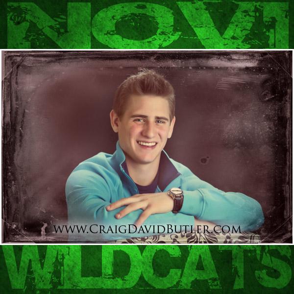 Novi Senior Pictures, Novi High School Michigan, Craig David Butler 01