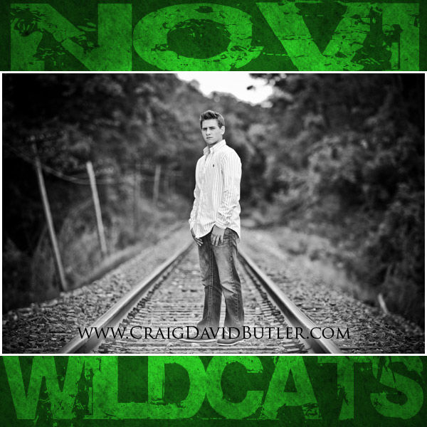 Novi Senior Pictures, Novi High School Michigan, Craig David Butler 04