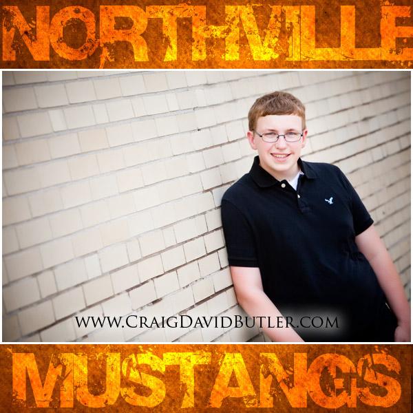 Northville Senior Photos, Northville High School Michigan Craig David Butler Studios