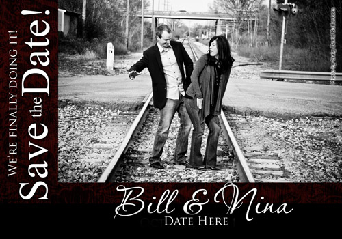 Wedding Save The date Magnets, Northville michigan, Craig David Butler, CDB2