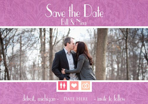 Wedding Save The date Magnets, Northville michigan, Craig David Butler, CDB3