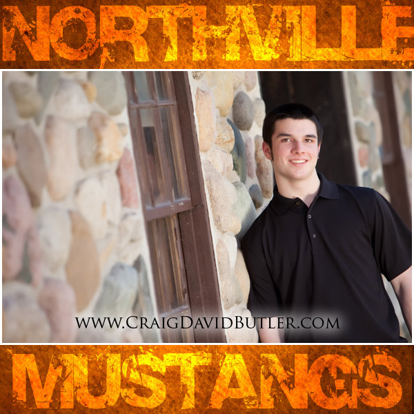 Michigan Senior Pictures, Northville High School Senior - Craig David Butler, Colin 1