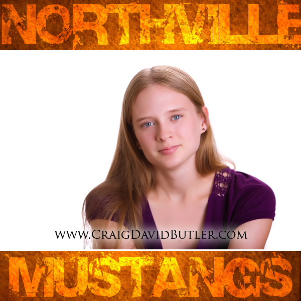 Northville High School Senior Photos Michigan, Craig David Butler, Abi1