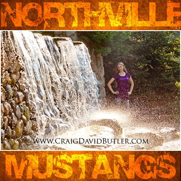 Northville High School Senior Photos Michigan, Craig David Butler, Abi3