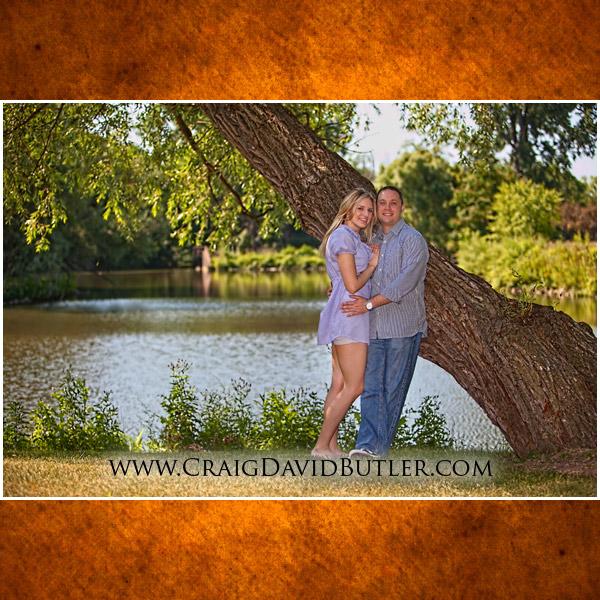 Mill Race Village Wedding Engagement Photos, Craig David Butler Studios, Allyson & Matt