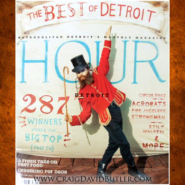Michigan Wedding Photographer- Detroit Hour Magazine June Issue Craig David BUtler Studios