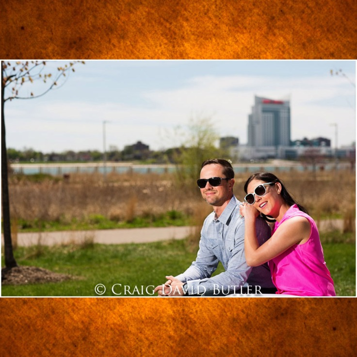 Detroit Wedding Engagement Photos, Craig David Butler Studios