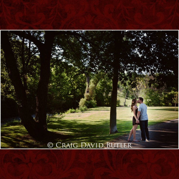 Plymouth Michigan wedding engagement session - Craig David Butler Studios
