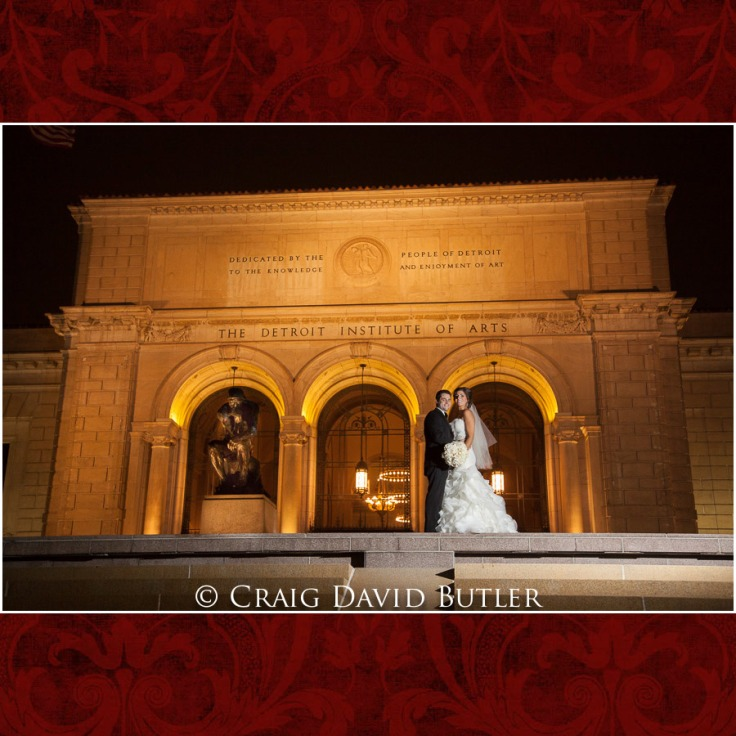 Colony Club Wedding Pics, Detroit Michigan, CDBStudios