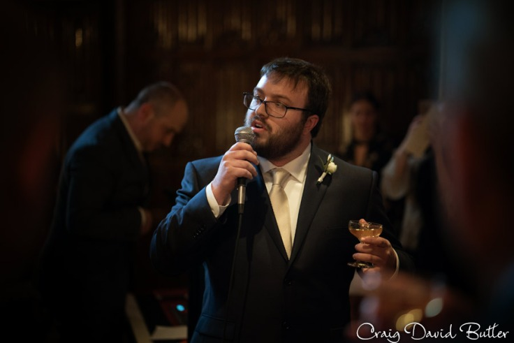 Best Man Toast at Meadow Brook Hall Wedding