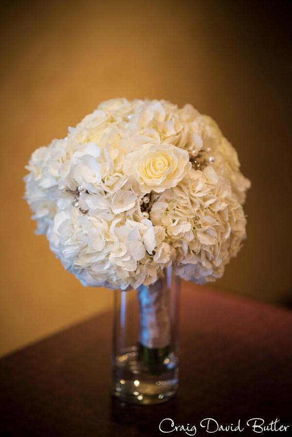 Bridal bouquet at the Reserve in MI