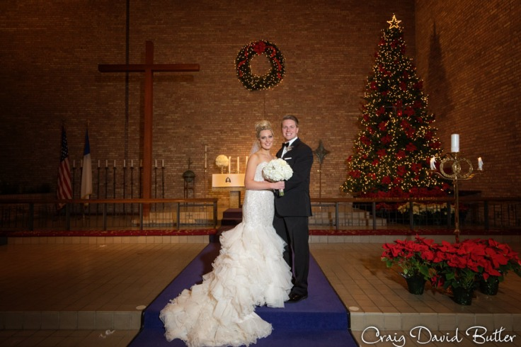 Shannon & Nathan at the Altar of Our Shepard.