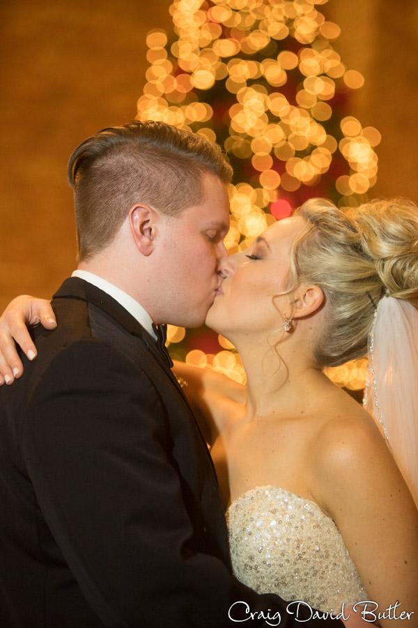 bride & groom wedding portrait.
