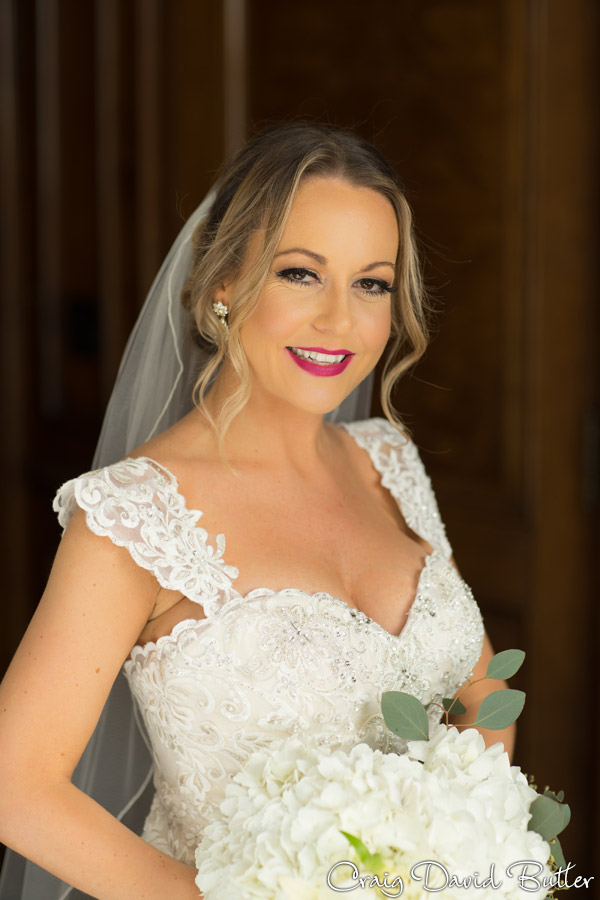 Bride portrait - foundation hotel detroit