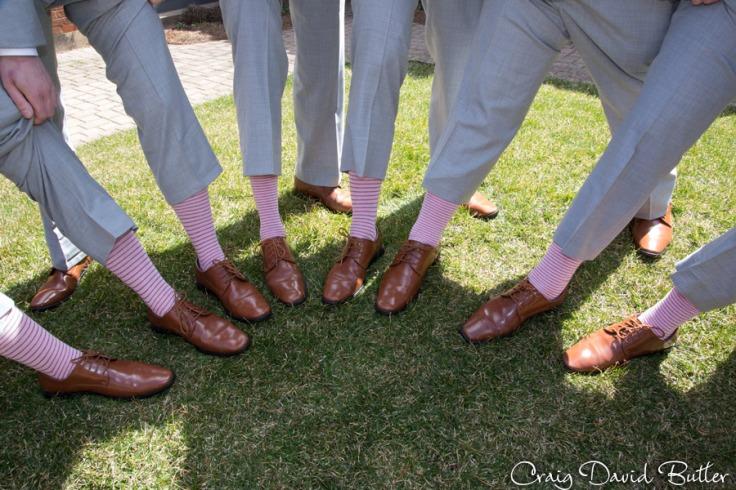 Groomsmen sock