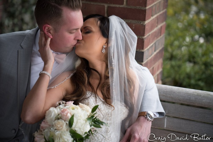 The kiss at Hines Park -