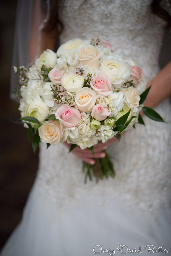 Bride's Bouquet - Roses