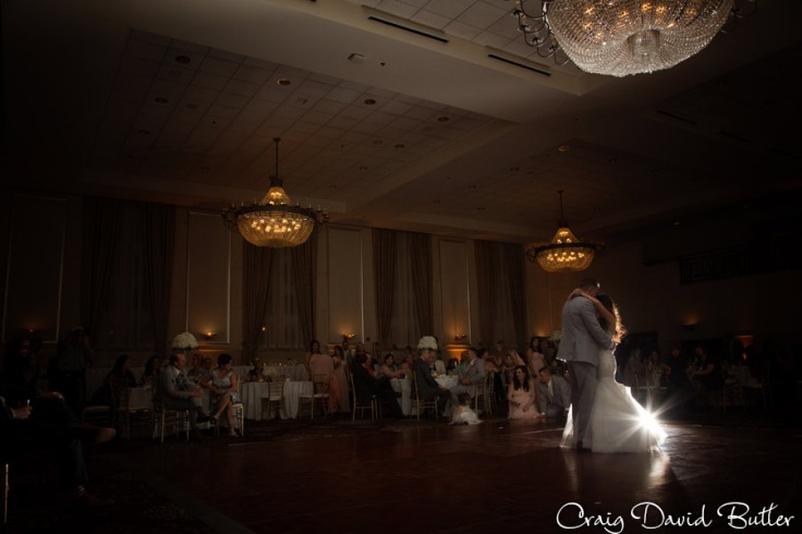Bride & Grooms first dance