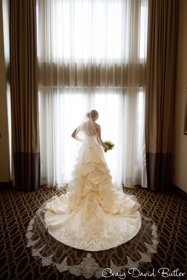 bride portrait at St. John's in Plymouth MI