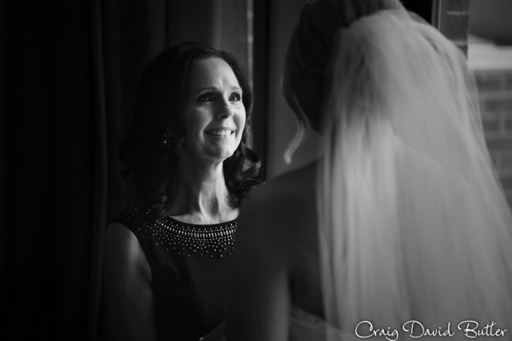 Bride and mother of the bride photo