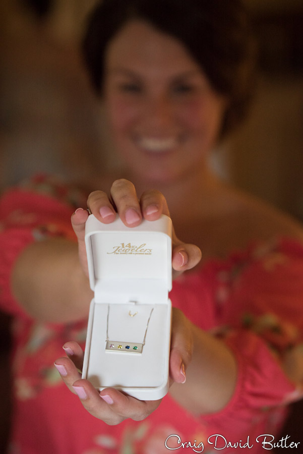 Brides gift from her closest friends