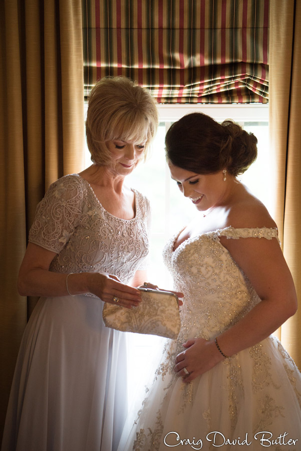 Bride and Mom portrait