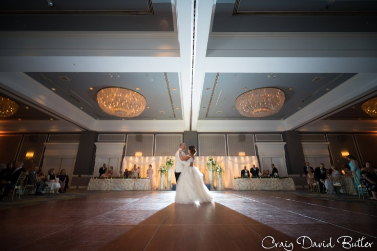 First Dance at the Dearborn Inn main ballroom