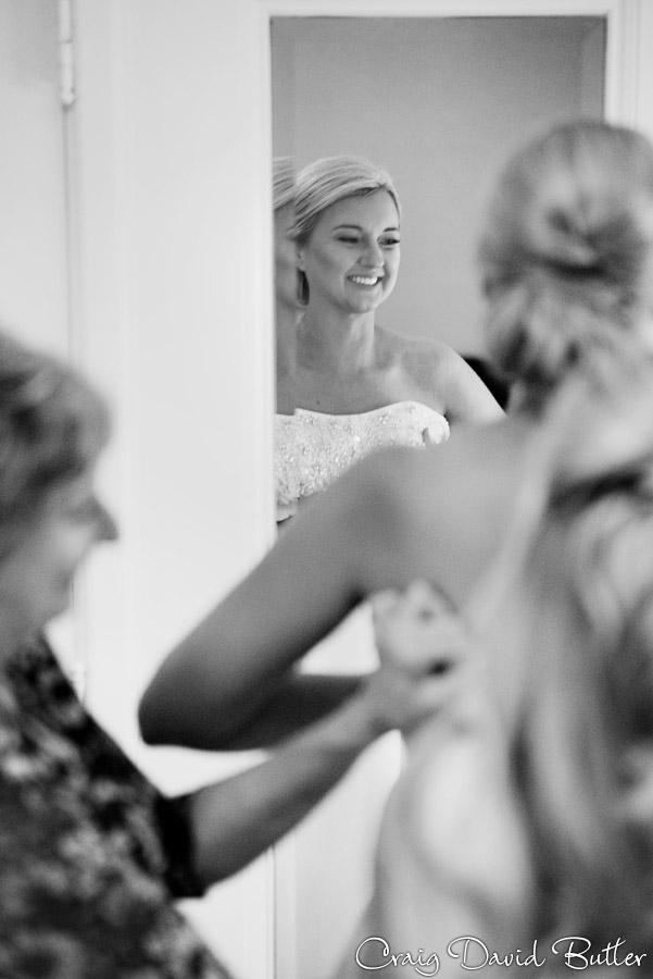 Bride Getting ready at the Dearborn Inn