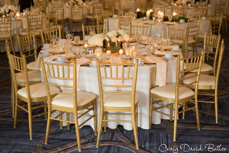 Table Setting - Alexandria Ballroom - Dearborn Inn.