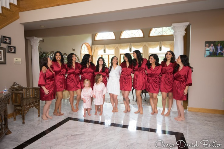 Bride & Bridesmaids photo