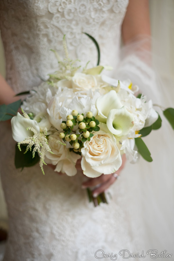 Bridal bouquet detail photos