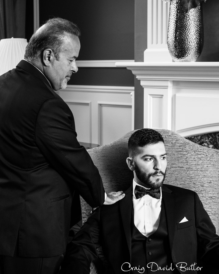 Godfather reenactment - wedding day