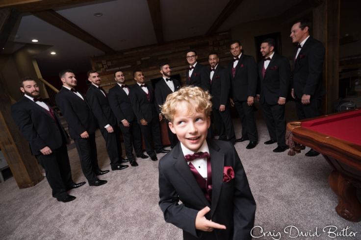 Groom and Groomsmen photo - Farmington Hills MI