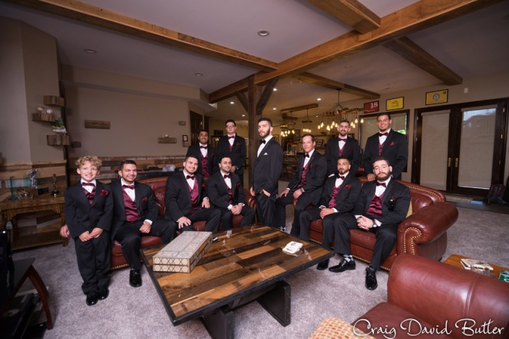 Groom & Groomsmen - Farmington Hills Wedding