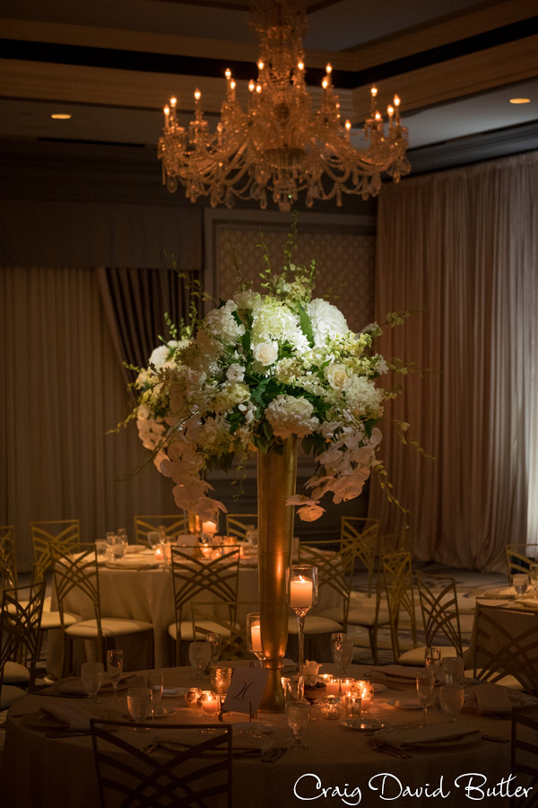 Table Decor The Henry Wedding reception in Dearborn by Craig David Butler
