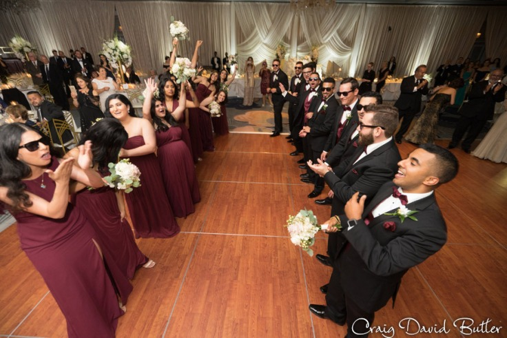 Bridal Party Introductions The Henry Wedding reception in Dearborn by Craig David Butler