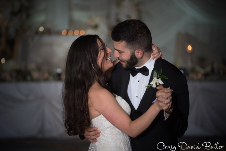 Bride & Grooms first dance The Henry Wedding reception in Dearborn by Craig David Butler