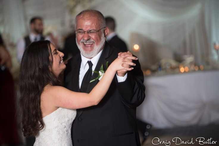 Father Daughter Dance The Henry Wedding reception in Dearborn by Craig David Butler