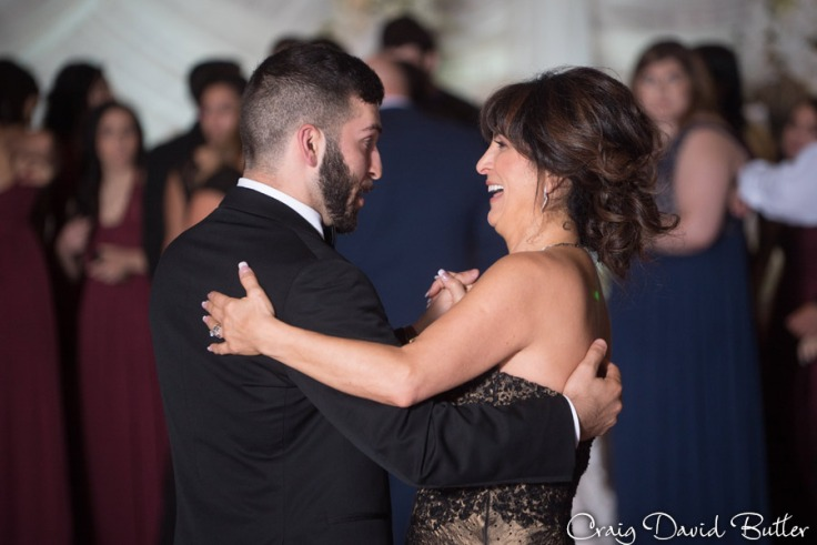 Mother Son Dance The Henry Wedding reception in Dearborn by Craig David Butler