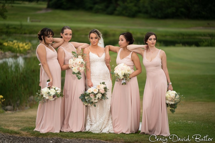 Bridesmaids Portrait Plymouth MI