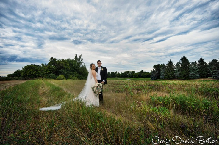 Bride & Groom - Fox Hills Plymouth MI