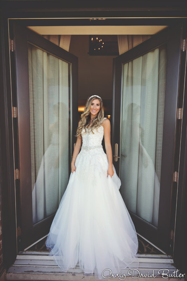 Beautiful portrait of Bride in the Suite