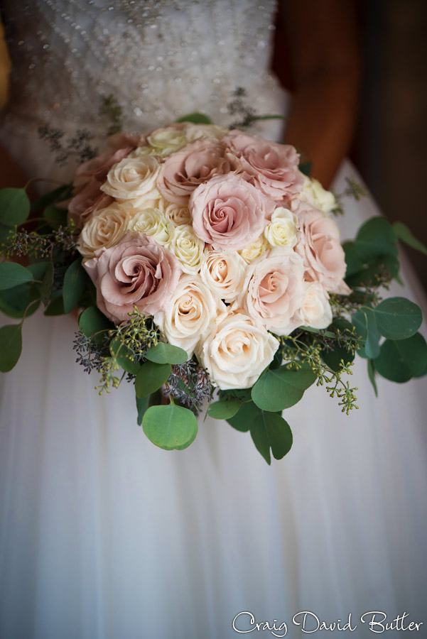 Brides bouquet - detail photo, detroit MI